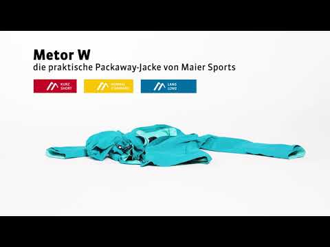 Maier Sports - Packaway Jacke Metor W