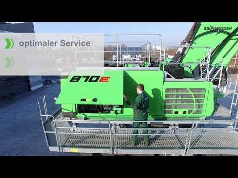 SENNEBOGEN 870 E Produktfilm - Der Umschlagbagger für den Hafen