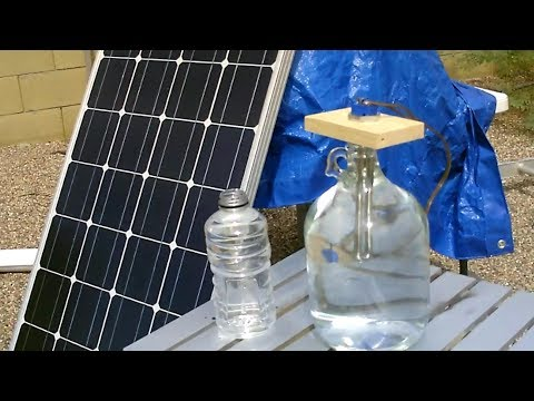 How to Heat Water with a Solar Panel! - Small Batch PV Hot Water Heating! - Easy DIY