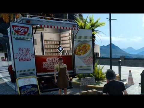 Final Fantasy XV: Is This the Silliest Product Placement in a Video Game Ever?