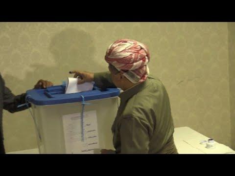 اكراد العراق يصوتون في استفتاء تاريخي على الاستقلال