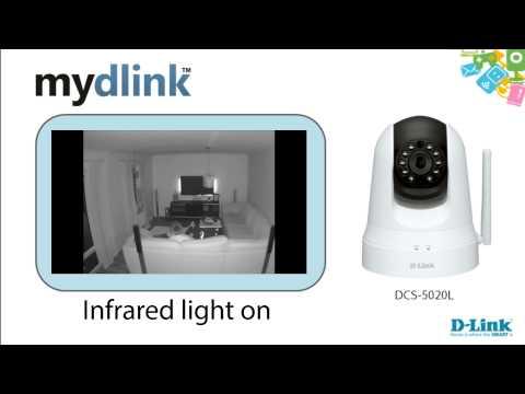 DCS-5020L mydlink camera recording examples