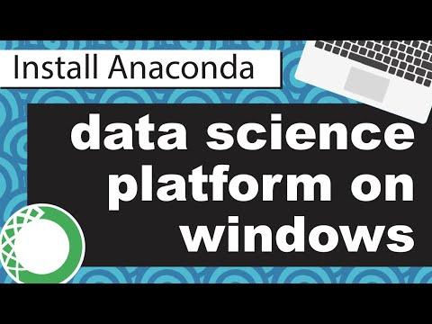Install Anaconda Windows