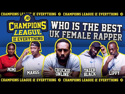 jdsports.co.uk & JD Sports Voucher Code video: WHO IS THE BEST FEMALE RAPPER IN THE UK???   CHAMPIONS LEAGUE OF EVERYTHING