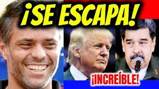 ????NOTICIAS DE VENEZUELA HOY 25 DE OCTUBRE 2020 LEOPOLDO LÓPEZ ESCAPA EEUU CELEBRA VENEZUELA