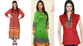 Latest Fashion 2016 Designer Kurtis Girls Kurtas