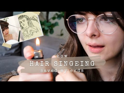 Singeing Is The Best Thing I Ever Did For My Hair 🔥