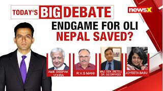 Endgame for Oli, Nepal Saved? | NewsX - NEWSXLIVE