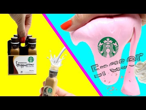DIY School Supplies! Starbucks DIYs(Slime Eraser,Liquid Keychain & More)Easy Life Hacks For Crafting