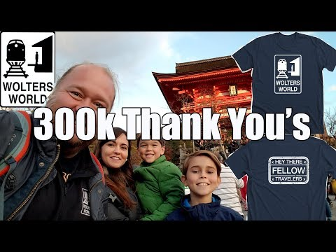 connectYoutube - 300,000 Thank You's & Wolters World T-Shirts for You Travelers