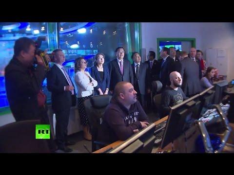 Глава комитета Всекитайского собрания народных представителей посетил RT в Москве