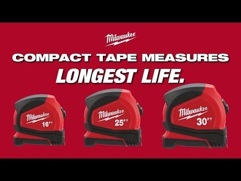 Milwaukee® Compact Tape Measures