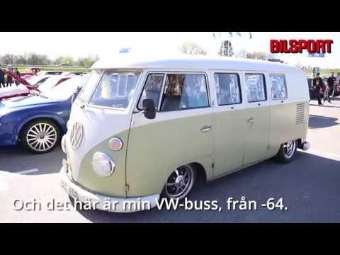 Micael Aktös VW -64 under Bilsport Gatbilar i Linköping