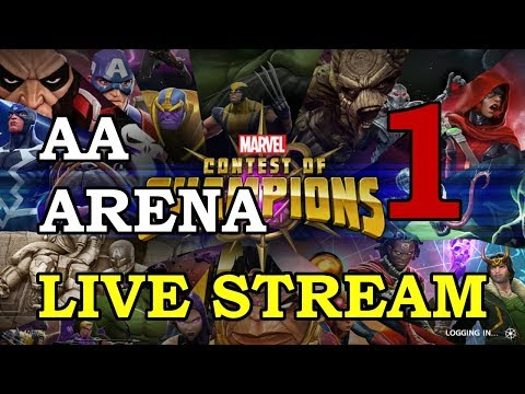 connectYoutube - Archangel Arena - Part 1   Marvel Contest of Champions Live Stream