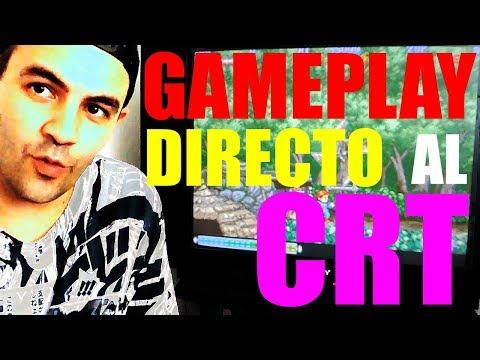 GAMEPLAY EN TELE CRT   WILLOW DE CAPCOM
