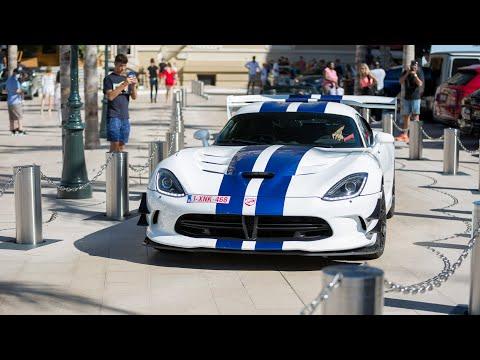 Supercars in Monaco 2020 - VOL. 27 (LaFerrari, Viper ACR, 750HP ABT RS6, Enzo, N-Largo F12, Chiron)