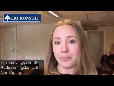 Att arbeta som redovisningskonsult - Kristina Lingebrandt