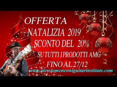 Sconto del 20% su Alessio Menconi Guitar Institute fino al 27 dicembre