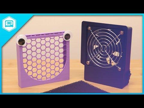 Fume Extractor Desktop Fan // 3D Printing