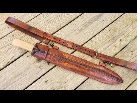 Roman Gladiator Spartan HOBO Gladius Machete and Sheath Project for My Wife Nurse Sippy Cup