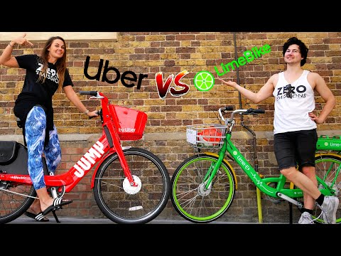 EBIKE REVIEW | UBER JUMP BIKES VS LIME ELECTRIC BIKES (LONDON)
