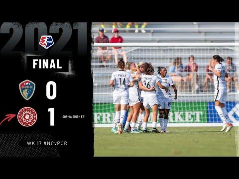 North Carolina Courage vs. Portland Thorns FC   September 12, 2021