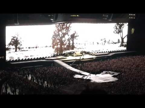 U2 Live - Joshua Tree Tour Vancouver  - I still haven't found what I'm looking for