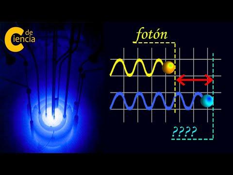 La partícula azul MÁS rápida que la LUZ