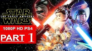 LEGO Star Wars The Force Awakens Gameplay Walkthrough Part 1 [1080p HD PS4] - No Commentary