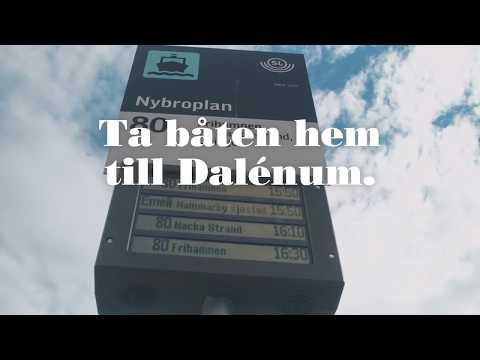 Bo i vattennära kvarter i Dalénum