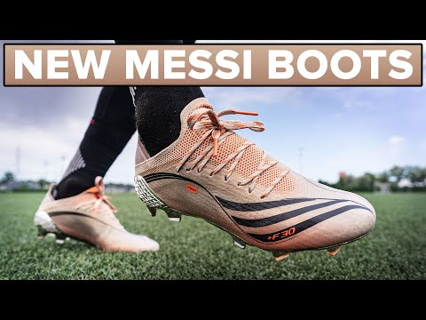 Here are Messi's new adidas boots | Play Test