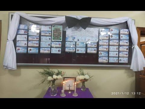 Galenos realizaron altar para seres queridos fallecidos a causa del COVID-19