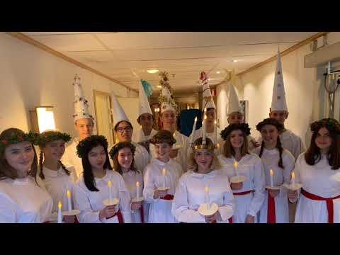 Luciafirande på Kungsholmen och i Bromma
