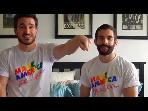 Make America Gay Again — Justin & Nick