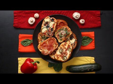 30-Minute Garlic Bread Pizza ? Tasty