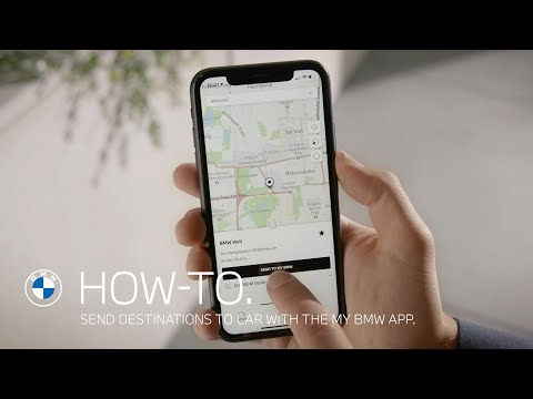 How to send destinations to your BMW with the My BMW App – BMW How-To