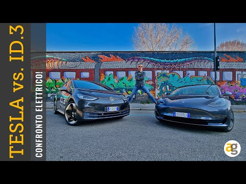 TESLA Model3 VS ID3 Volkswagen CONFRONTO