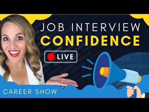 How To Be MORE CONFIDENT In A Job Interview - Job Interview Confidence Tips photo