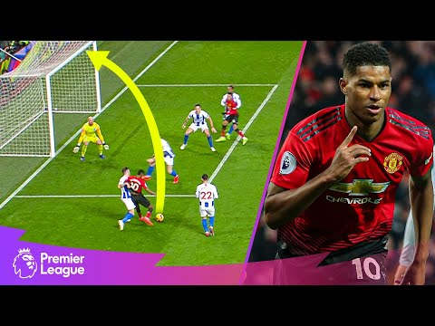 Clever feet & BRILLIANT Marcus Rashford finish! | Premier League | Classic goals from MW30 fixtures