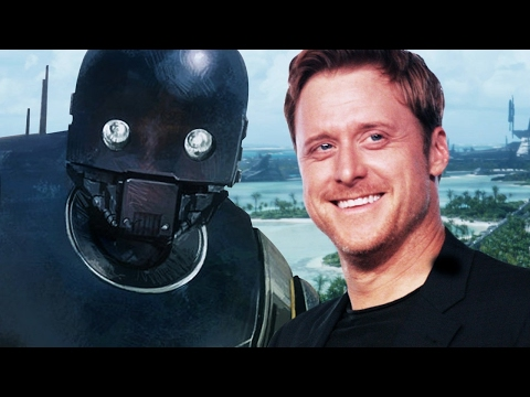 Rogue One's Alan Tudyk on Droids, Toys, and Video Games - Up At Noon Live!