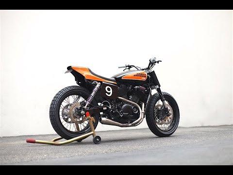 Harley Davidson XG 500 Dirt/Street Tracker Project (Full Video)