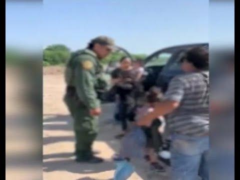 Abandonan a cinco niñas migrantes en frontera de EE.UU.