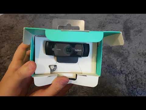Logitech C922 Pro gaming Web-Cam ★Jetzt seht ihr mich und die Miniaturen scharf