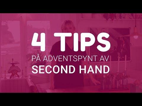 4 tips på adventsprylar av second hand