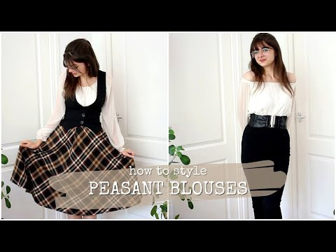 Styling A Peasant Blouse | 5 Ways