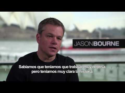 JASON BOURNE - Entrevista a Matt Damon