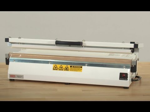 """Extra Long Impulse Sealer with Cutter - 24"""""""