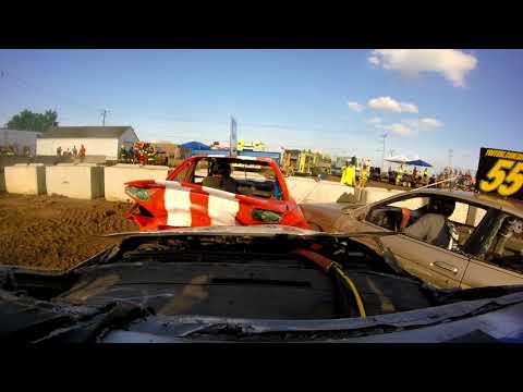 #34Q ONBOARD DEWITT DEMOLITION DERBY