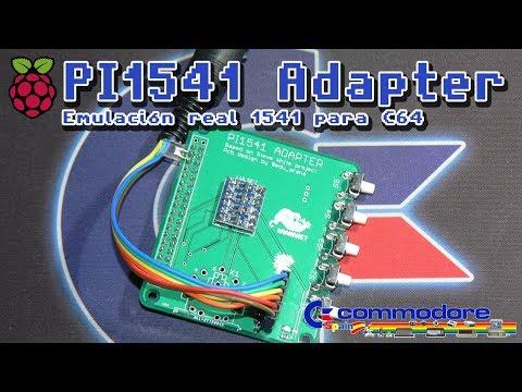 Pi1541 Adapter para Rasberry pi Emulación real 1541 para Commodore 64