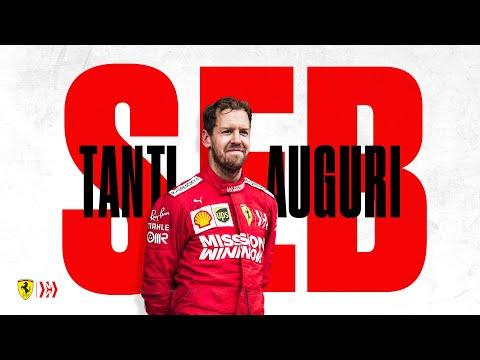 Happy Birthday Seb from the whole Scuderia Ferrari family